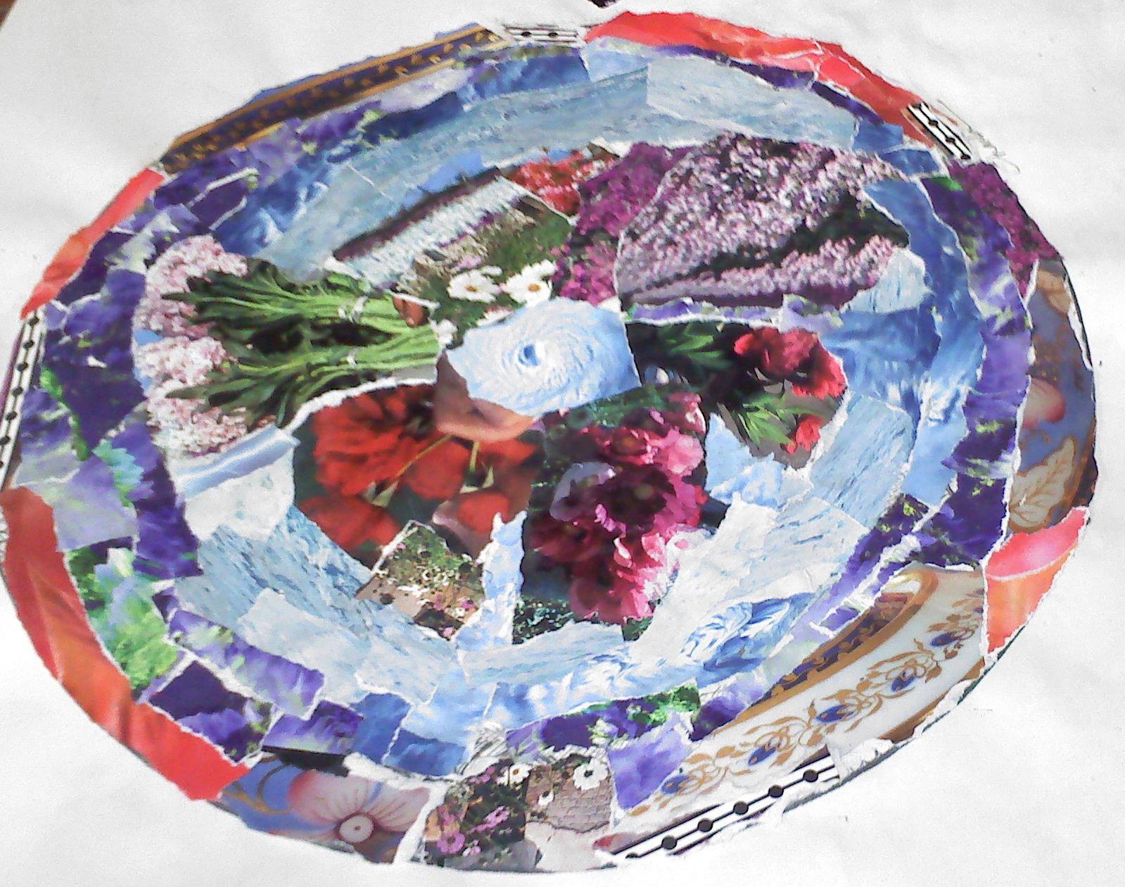 volunteer piece art table